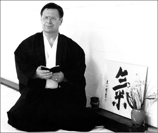 Simcox Sensei; Photo by Rebecca Nisley ©1988
